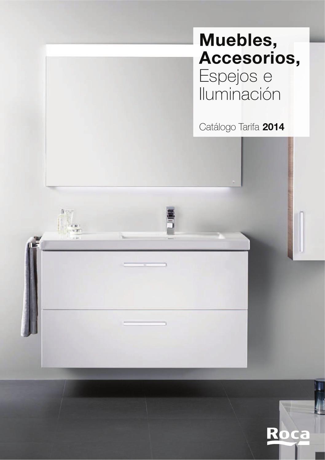 Cat logo muebles roca 2014 by servidaya issuu for Catalogo roca calefaccion