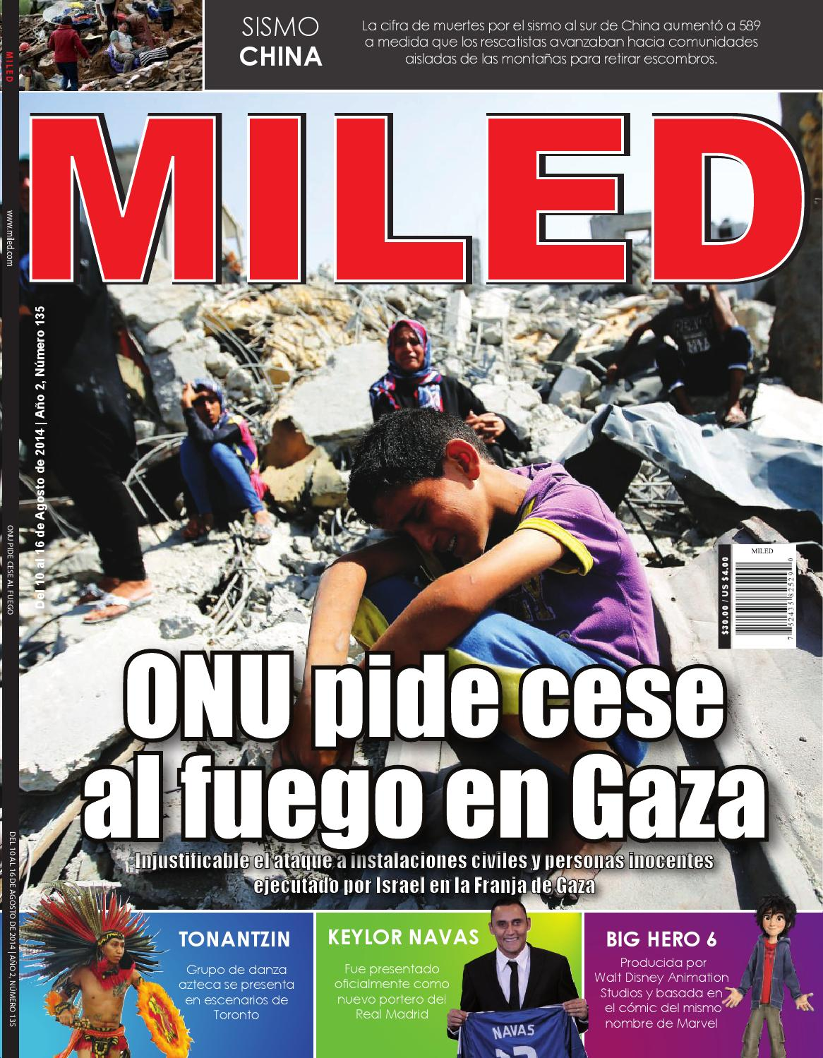 Revista Miled 10/08/2014 by Miled Revista - issuu