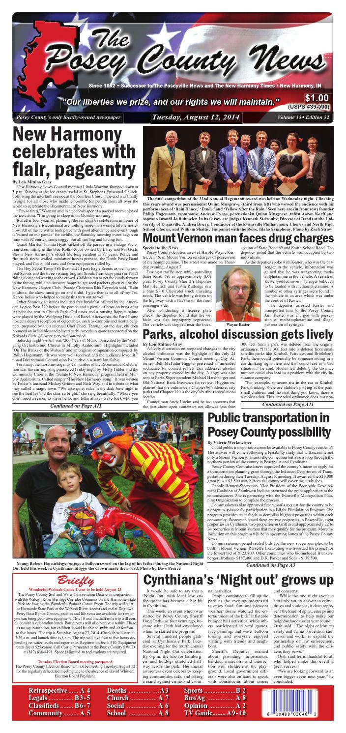 August 12 2014 The Posey County News By The Posey County News Issuu
