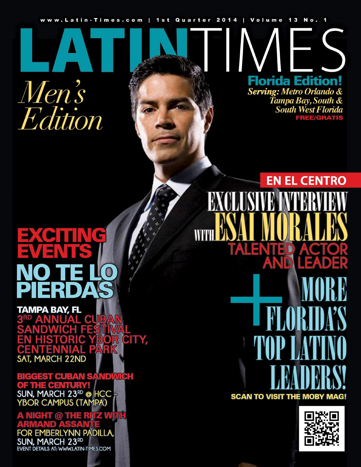 Latin times magazine volume 13 no 1 by Claribel Levinson - issuu