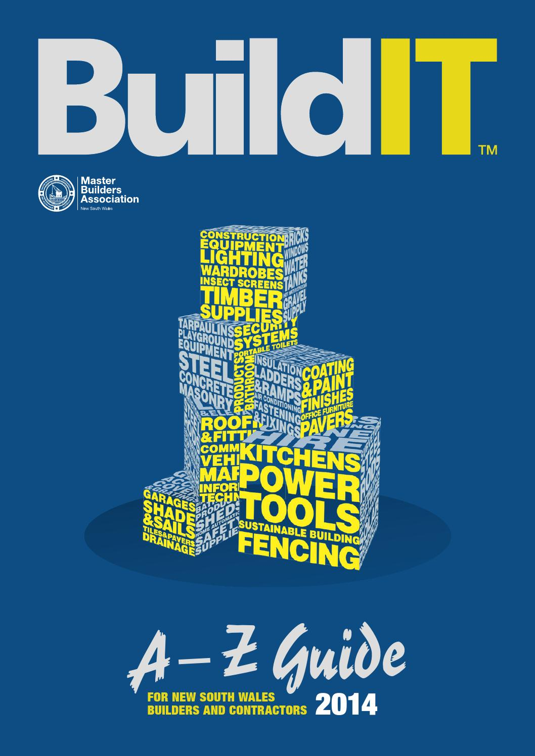 2014 Master Builders New South Wales Buildit Directory By Name Card Holder Binder 6242 Arkmedia4217 Issuu