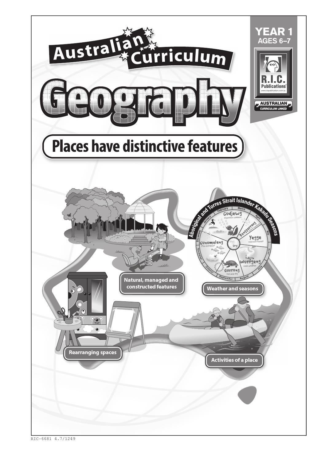 Australian Curriculum Geography Year 1 By Teacher Superstore Issuu How to teach kids where in the world they live by using simple circles to show the planet, continent, country, state, city, street, home! australian curriculum geography year