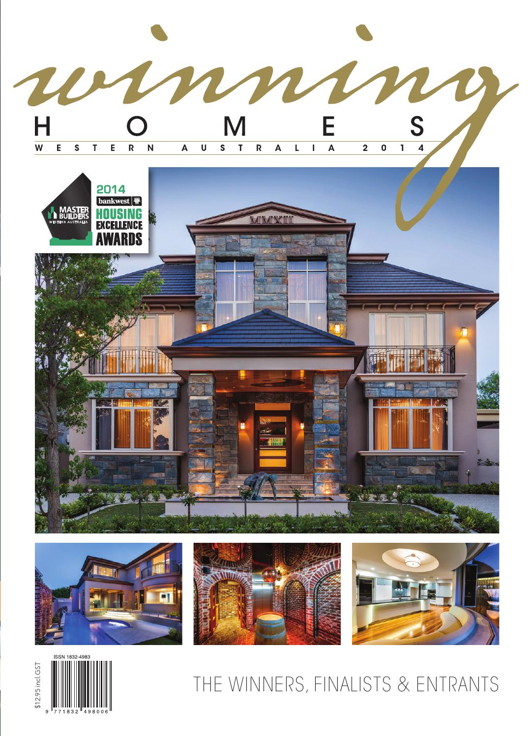 2014 Master Builders Western Australia Winning Homes