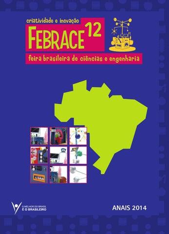 bbe17c01f Anais FEBRACE 2014 by FEBRACE - Feira Brasileira de Ciências e ...