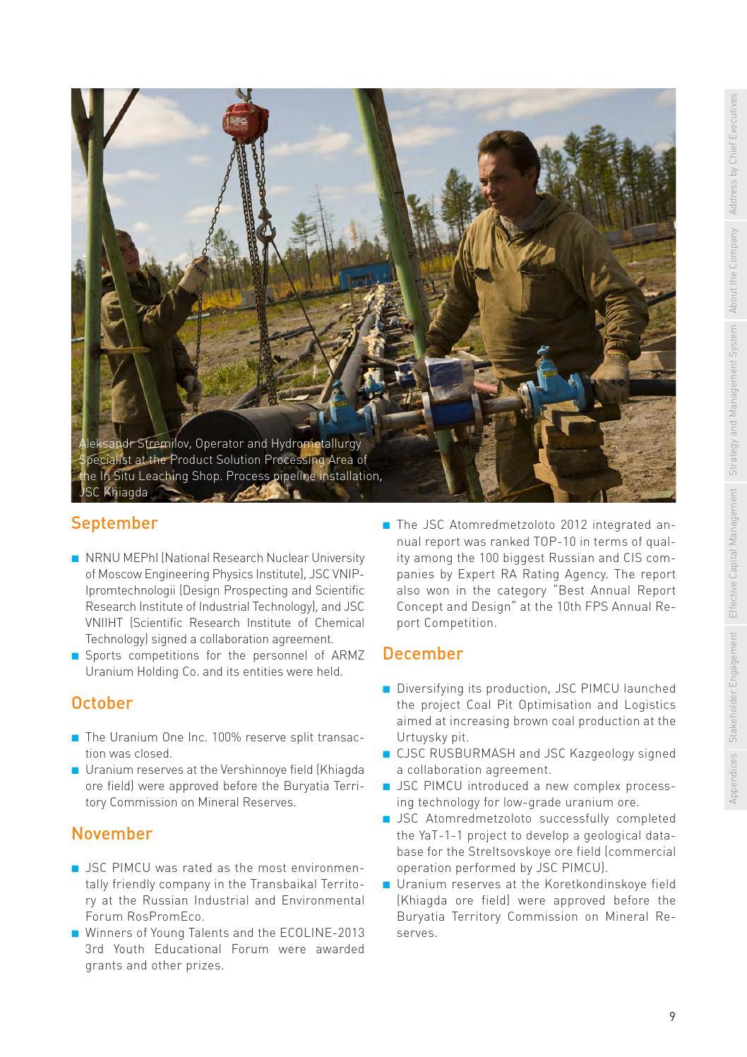 723fbcb17c5 Armz annaul report 2013 eng ver by ARMZ ARMZ - issuu