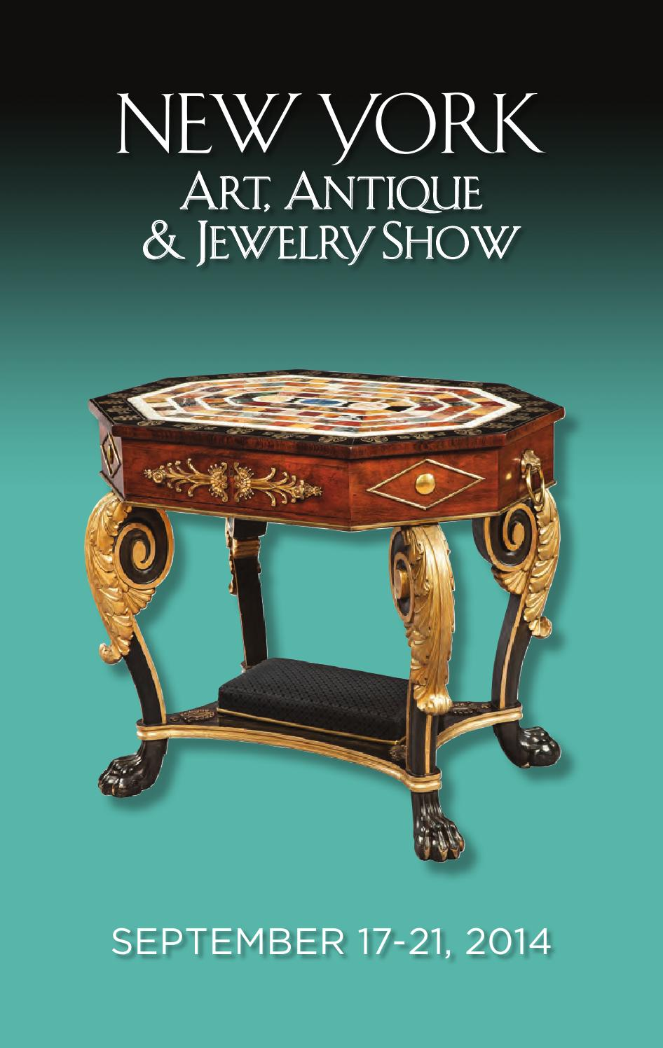 New york art antique and jewelry show 2014 by palm beach for Antique jewelry stores nyc