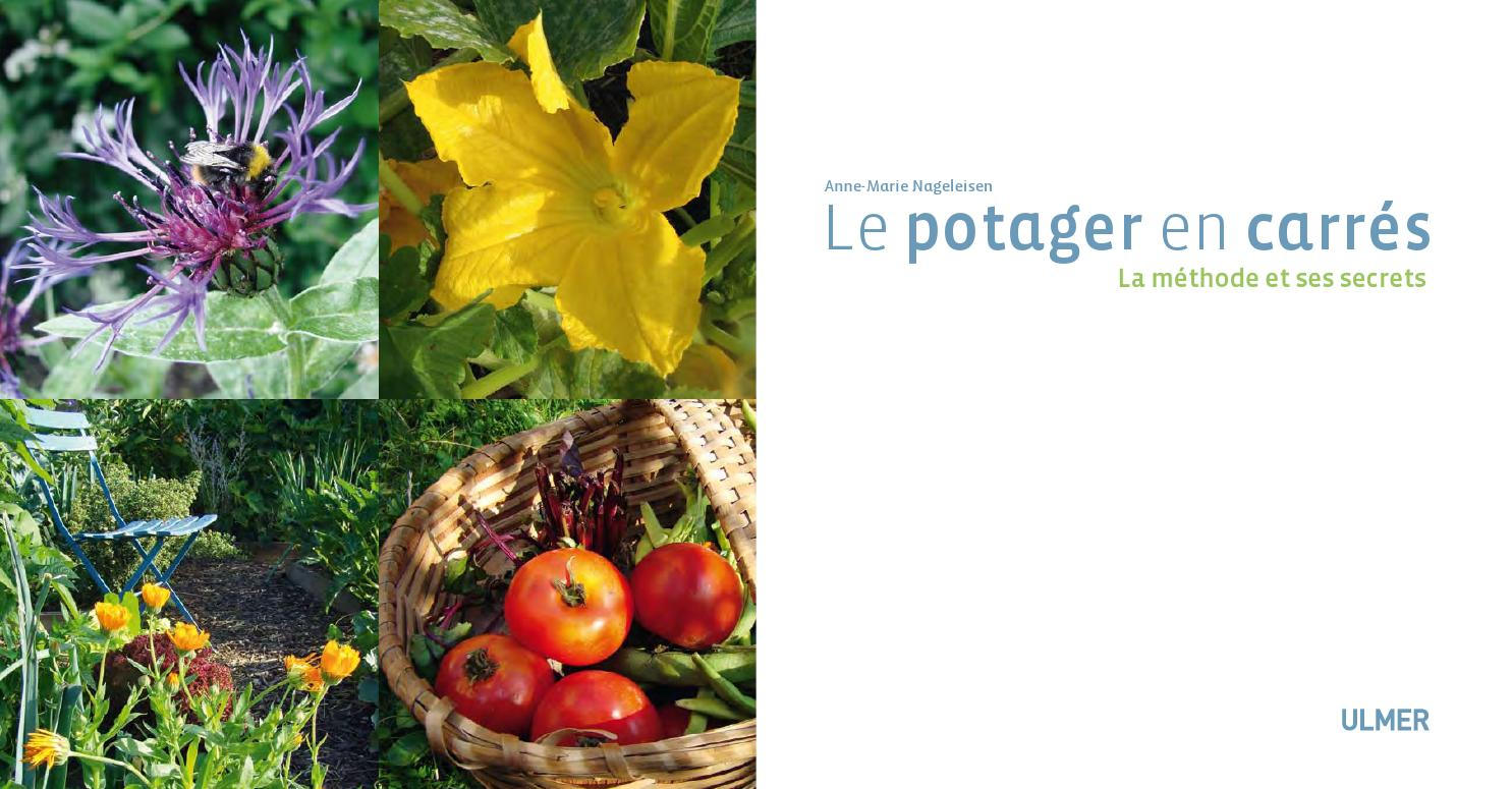 Extrait le potager en carr s ditions ulmer by ditions for Le potager en carre