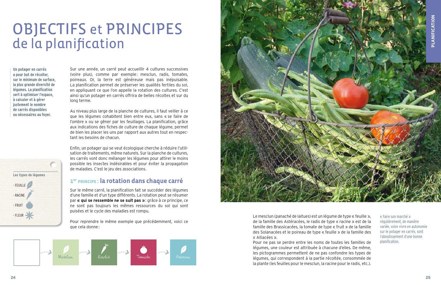 Un Potager En Carré extrait guide pratique du potager en carrés - Éditions ulmer