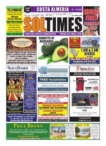 Almeria 449 By Sol Times Issuu