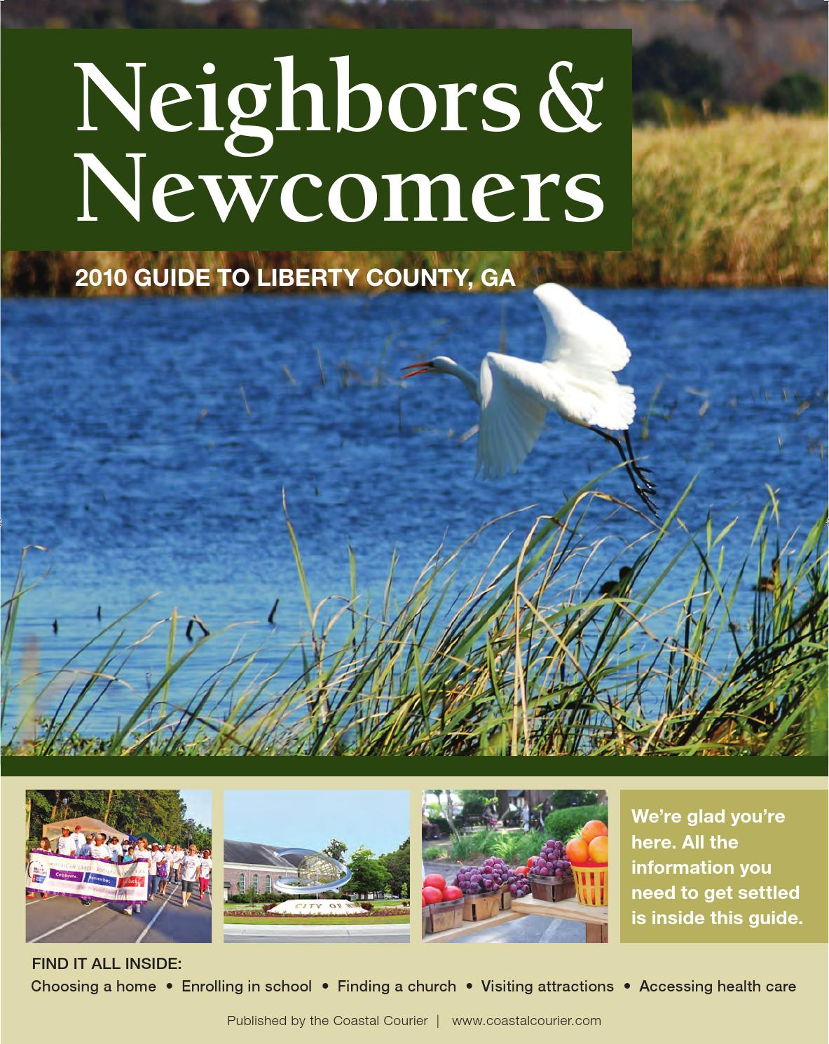 Libertylifenewcomers2010complete By Coastal Courier