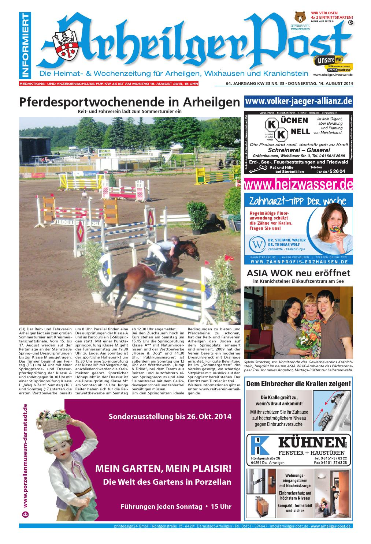Arheilger Post KW33 by printdesign24gmbh - issuu