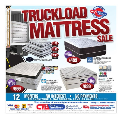 City Furniture U0026 Appliances   Truckload Mattress Sale 2014 By City ...