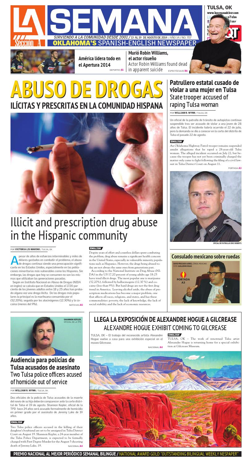 La semana edition 707 august 13 2014 la semana tulsa oklahoma usa by ...