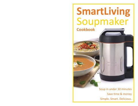 soup maker canada cookbook by soup maker canada issuu