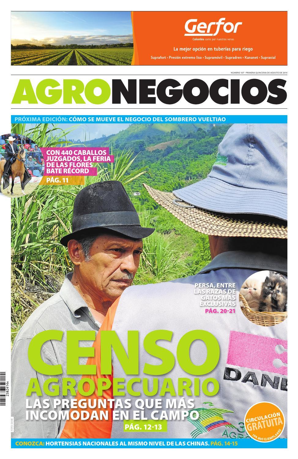 Agronegocios Agosto 13 2014 by Diario La República - issuu 0fd5d00db5a