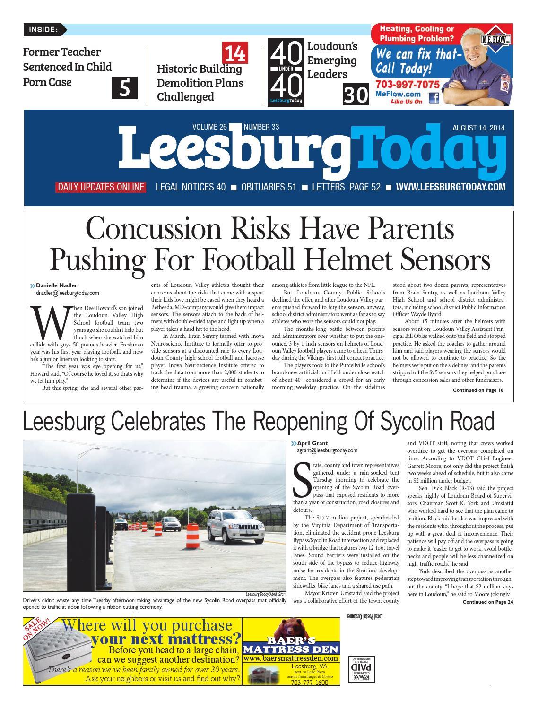 Leesburg Today August 14, 2014 by InsideNoVa - issuu