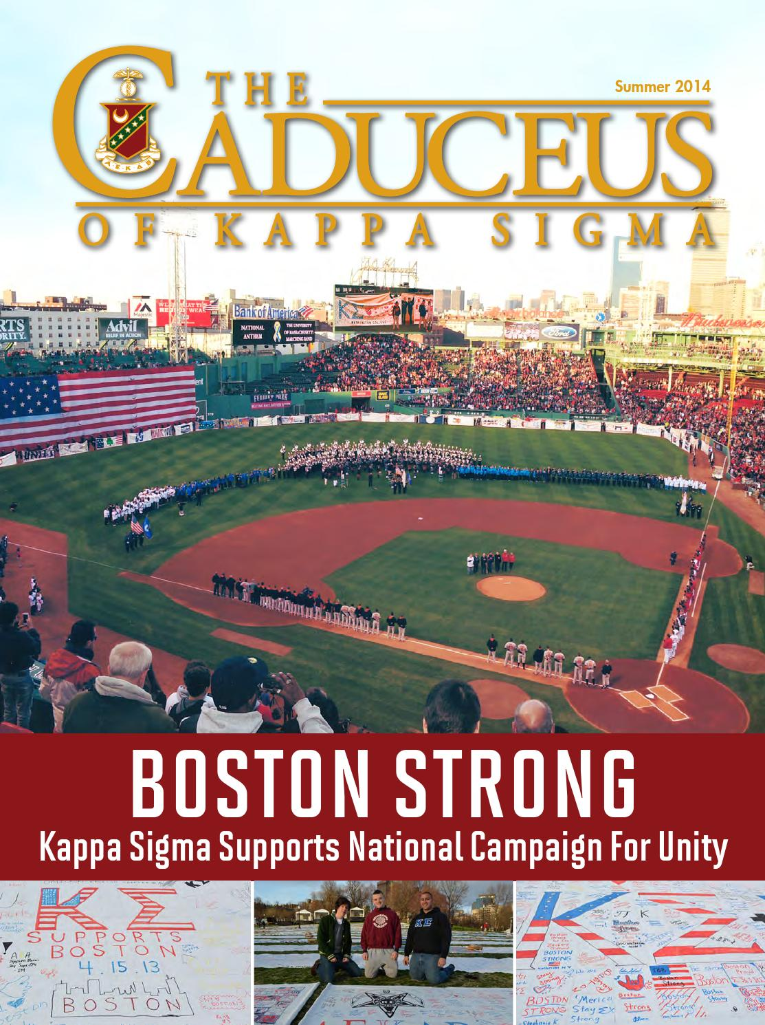 The Caduceus of Kappa Sigma - Summer 2014 by Kappa Sigma