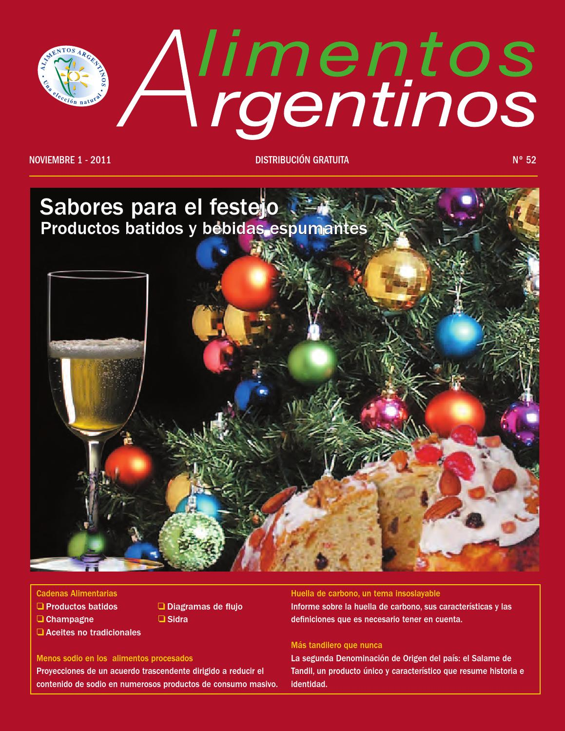 Revista alimentos argentinos n 52 by siia issuu for Revistas del espectaculo argentino