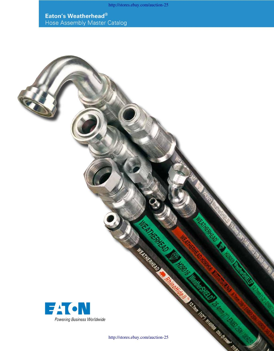 1//4 Tube Size 1//4 Hose ID 1//4 Tube Size EATON Weatherhead Coll-O-Crimp 04U-R04 Male Swivel Fitting 1//4 Hose ID Straight Thread O-Ring Low Carbon Steel