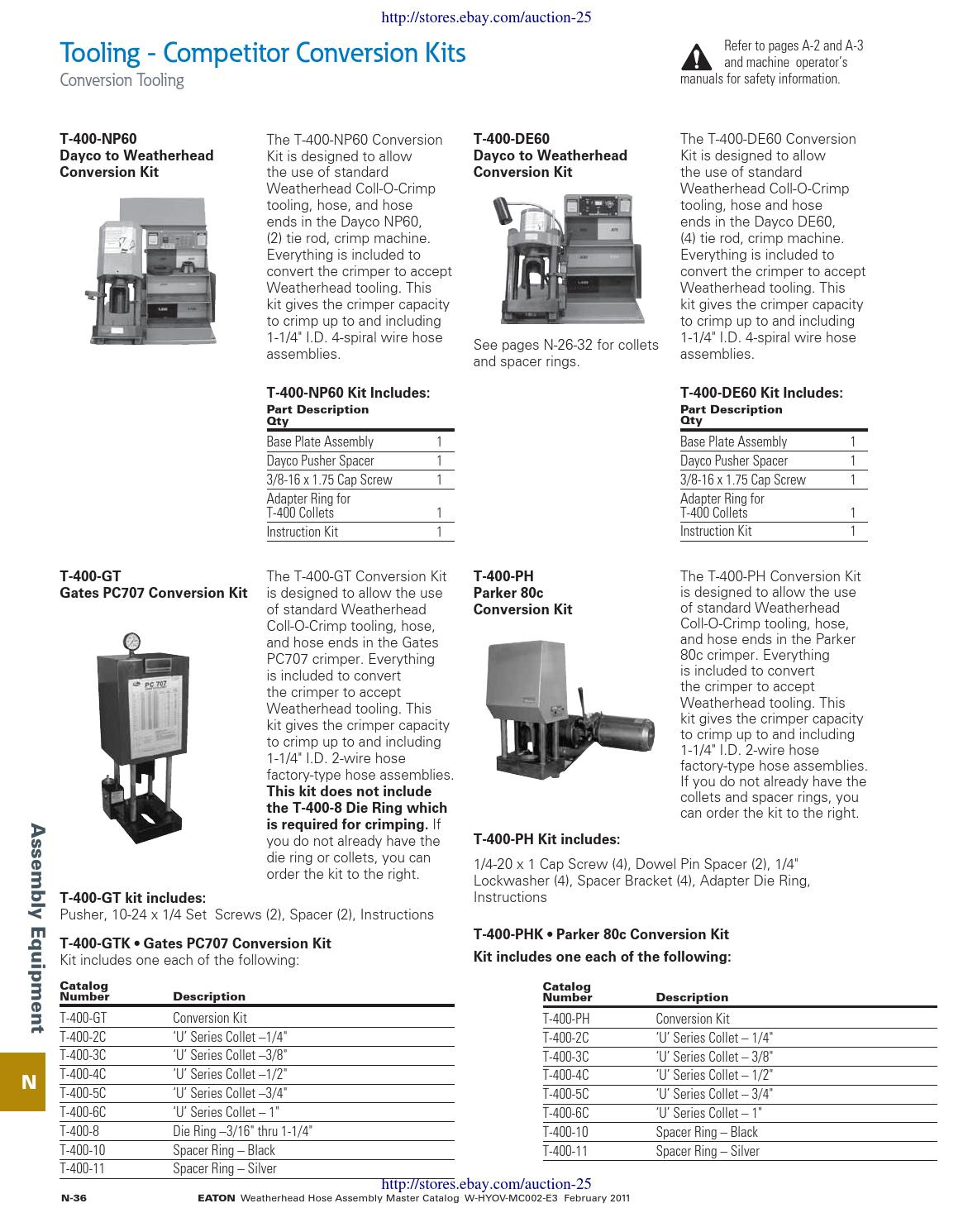 Eaton weatherhead catalog pdf auction 25 final 499 by Adapters Incorporated  - issuu