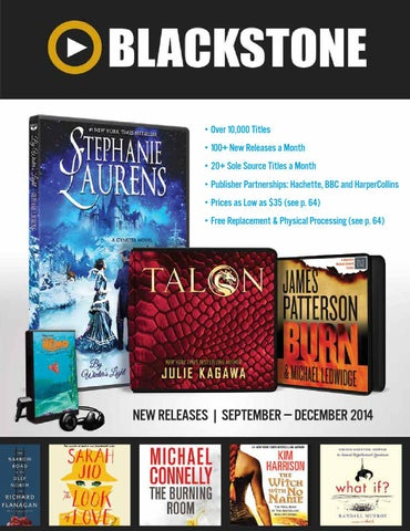Blackstone audio sep dec 2014 by blackstone library issuu over 10000 titles 100 new releases a month 20 sole source titles a month publisher partnerships hachette bbc and harpercollins prices as low as fandeluxe Image collections