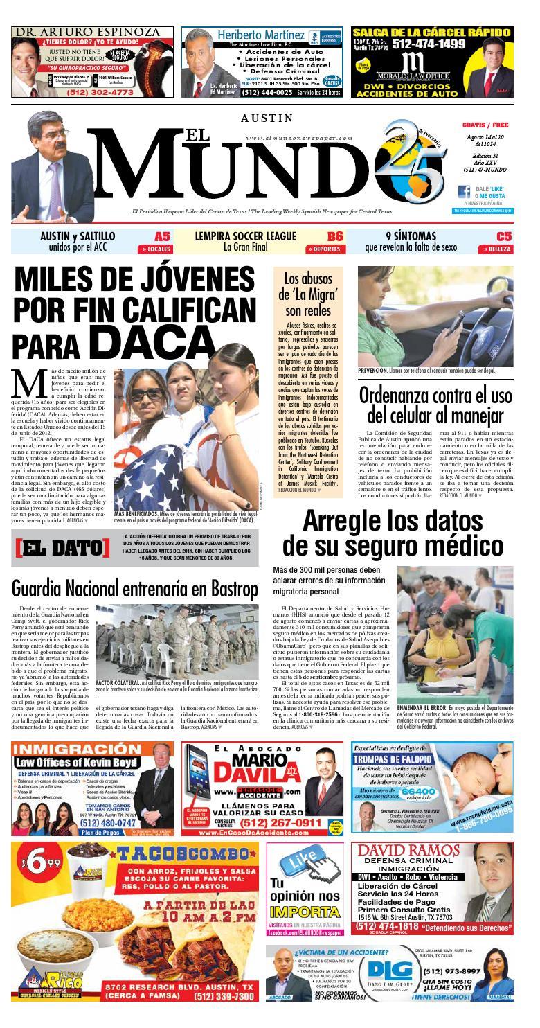 El Mundo Newspaper Austin 32 by El Mundo Newspaper - issuu