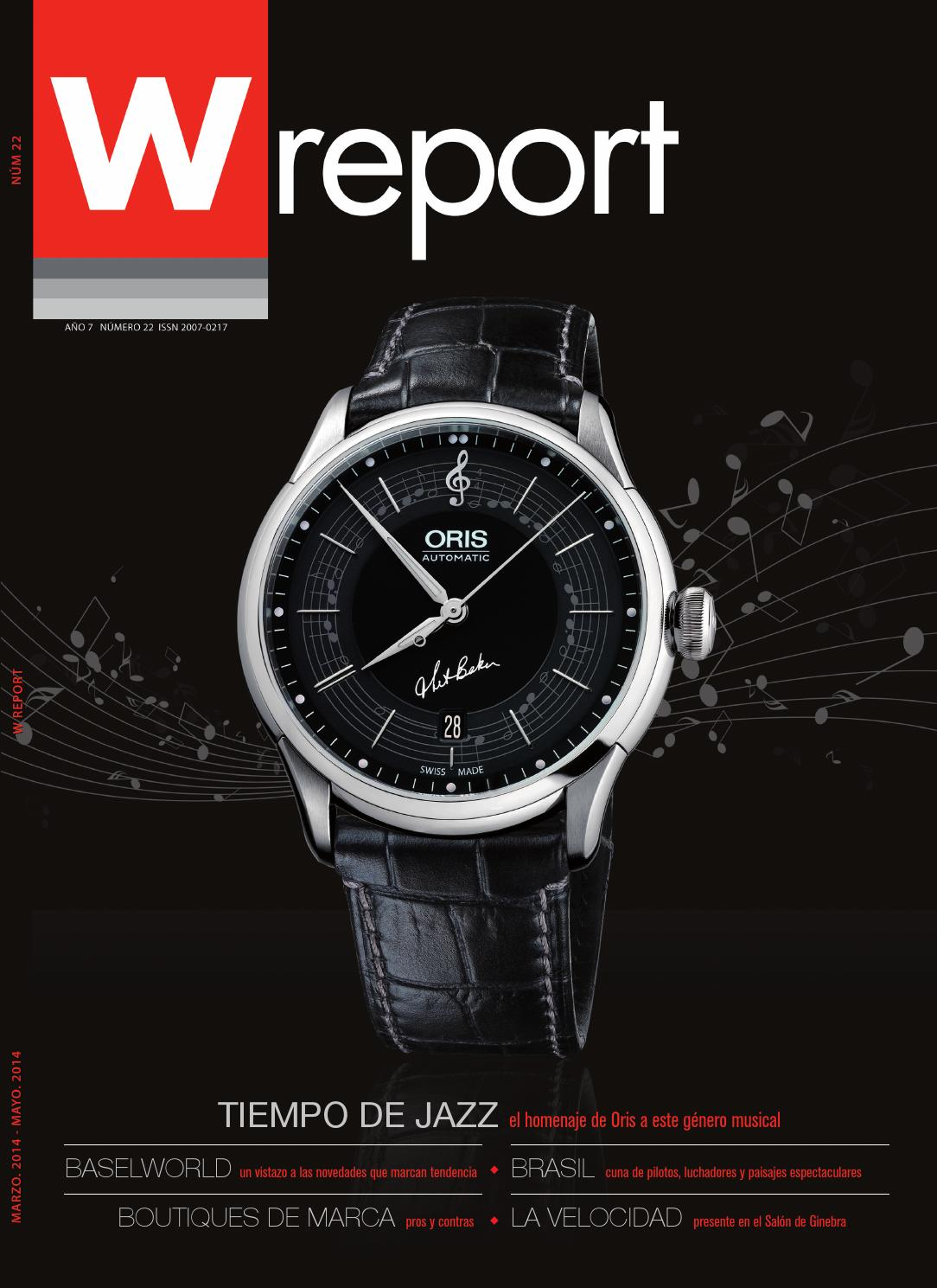 36b6e6f39f0e WReport 22 by Swiss Time Group by WReport - issuu