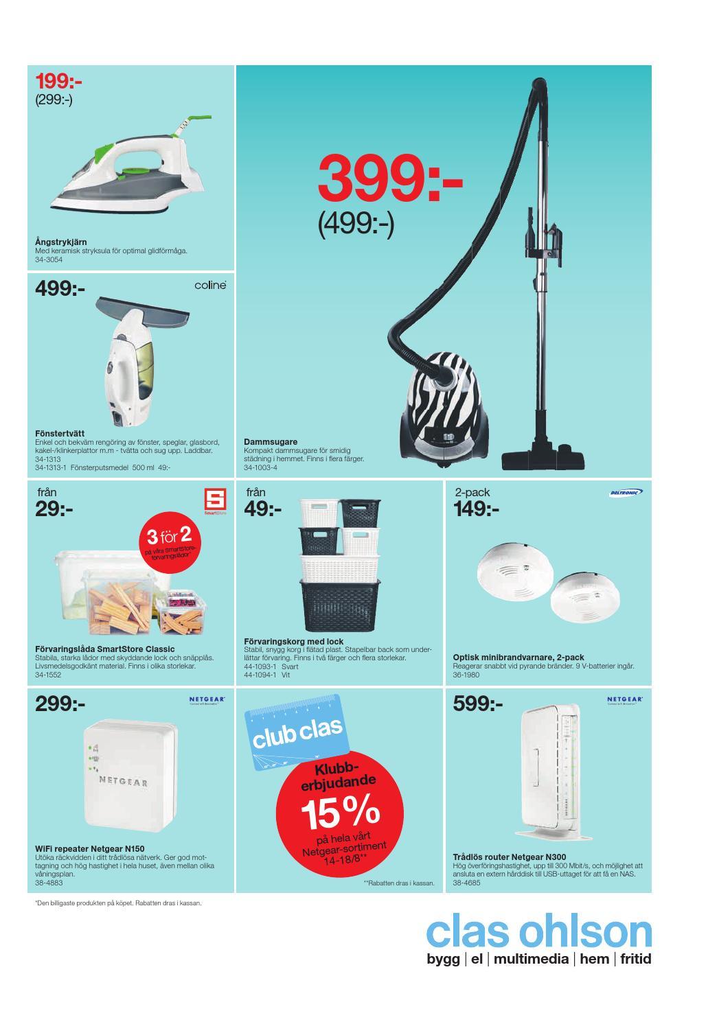 Varje vecka Blöta Utrusta 34 1003 2 dammsugare vader365.se