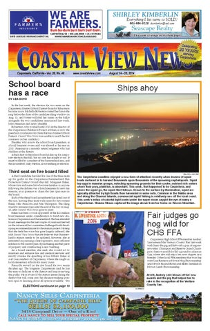 Cvn 080814 By Coastal View News Issuu