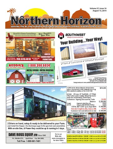 The Nortrhern Horizon August 15, 2014 by The Northern