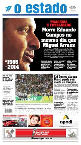 e77609503b2cf Edição 22320 - 14 de agosto de 2014 by Jornal O Estado (Ceará) - issuu