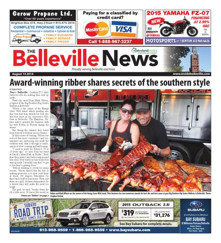 Belleville081414 by metroland east belleville news issuu page 1 fandeluxe Choice Image