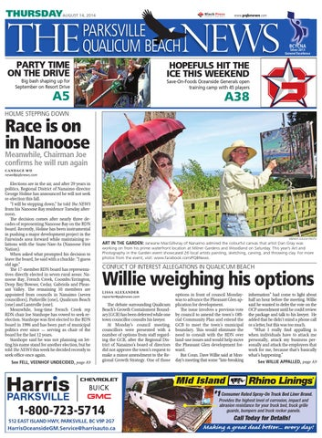 Parksville Qualicum Beach News, August 14, 2014