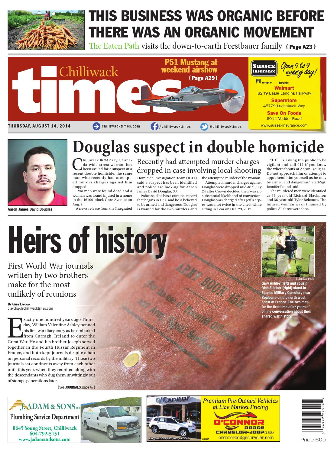 Chilliwack Times August 14 2014 by Chilliwack Times - issuu