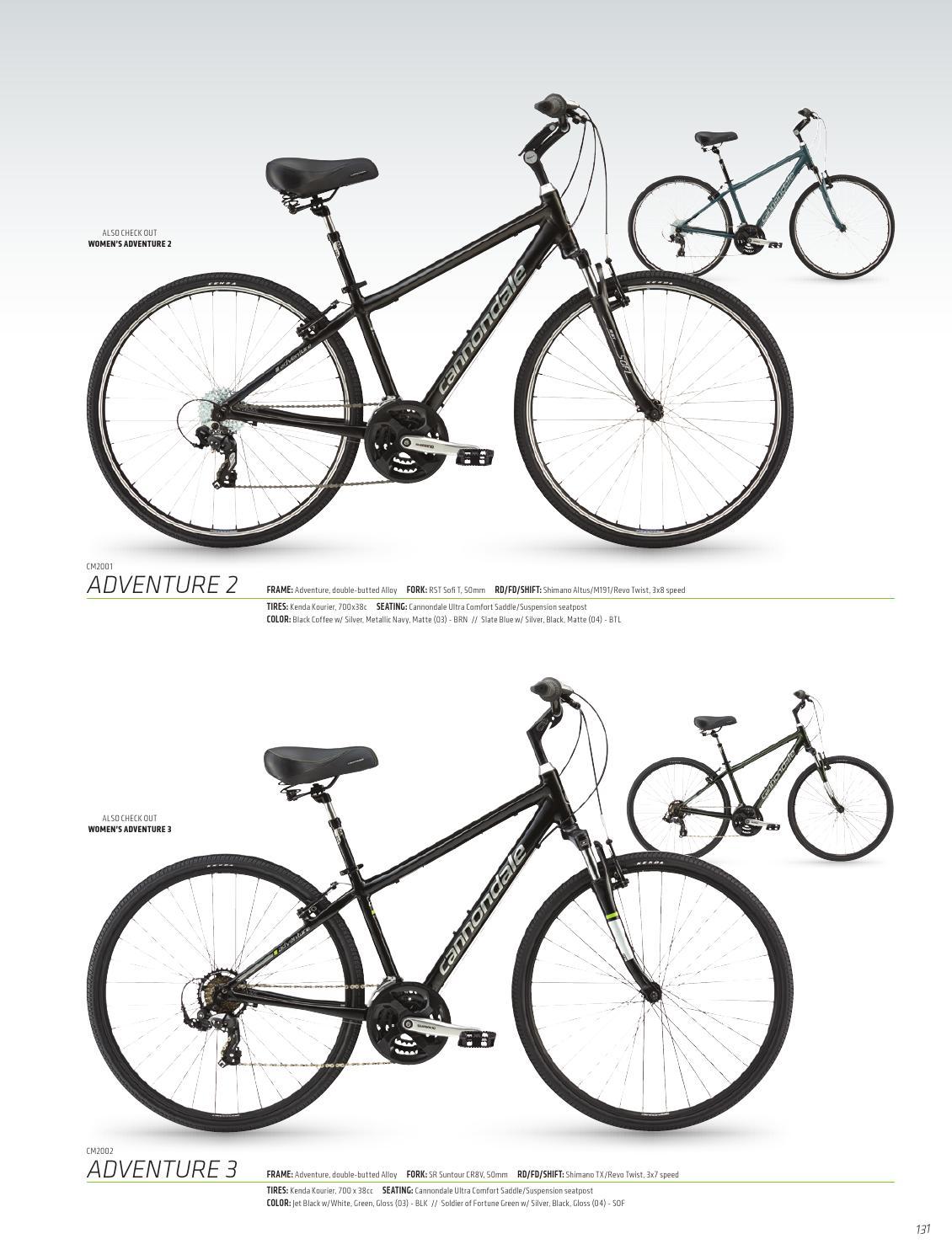 Black//Silver Bike Cannondale Comfort Saddle
