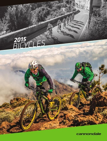 38cc7ec0893 2015 CANNONDALE BIKE CATALOG by Cannondale_GLOBAL - issuu