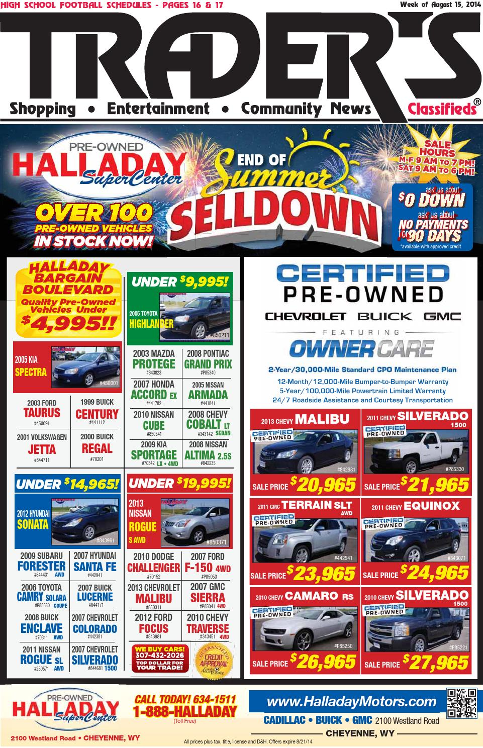 Trader S Shopper S Guide 08 14 15 By Trader S Shopper S