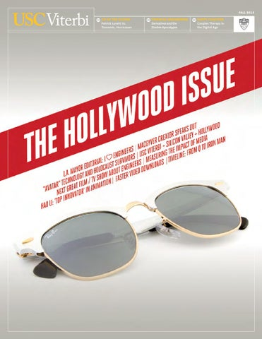 536c9e8054e6 USC Viterbi  The Hollywood Issue. Fall 2013 by University of ...