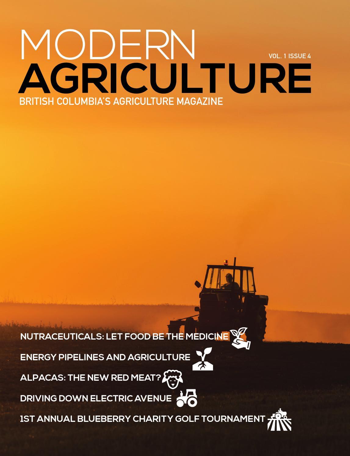 Modern Agriculture Magazine Volume 1 Issue 4 By Modern