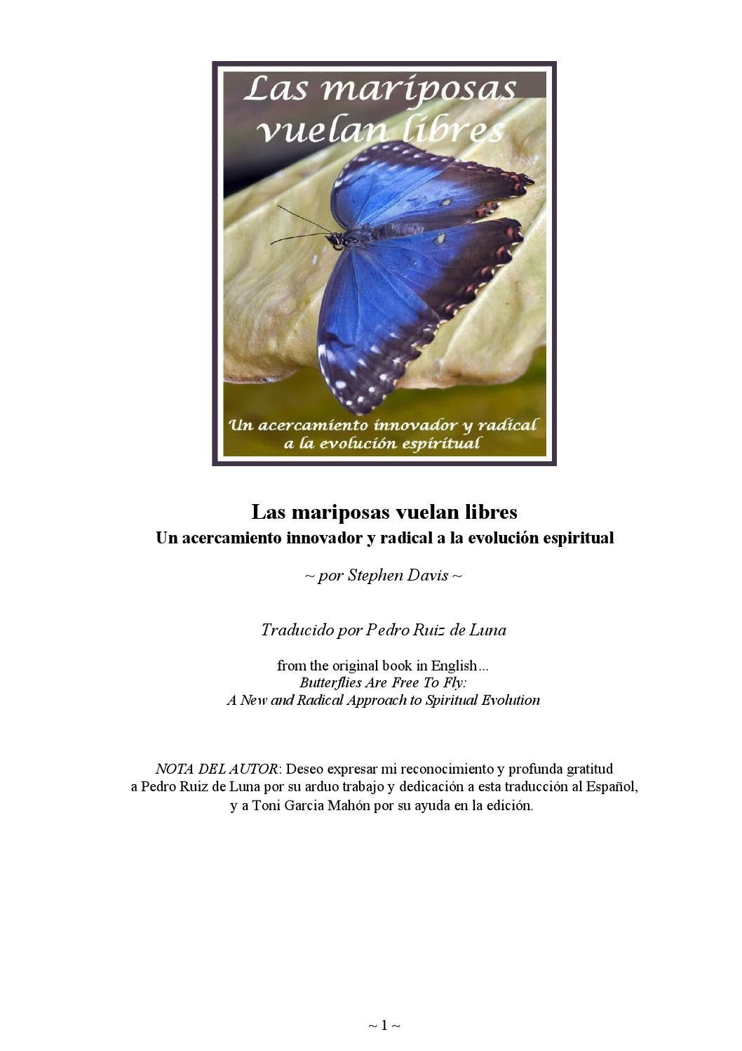 Las mariposas vuelan libres, Stephen Davis by alonindark - issuu