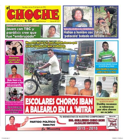 65b0a9a82f8 El choche 15 de agosto de 2014 by Diario El Choche - issuu