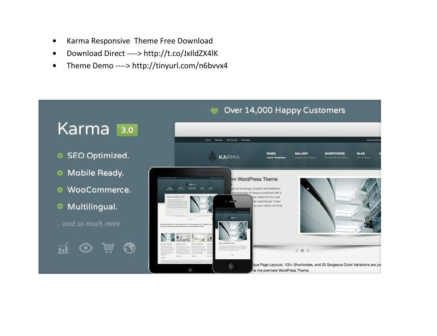 Karma responsive theme free download by alixa nomi - issuu