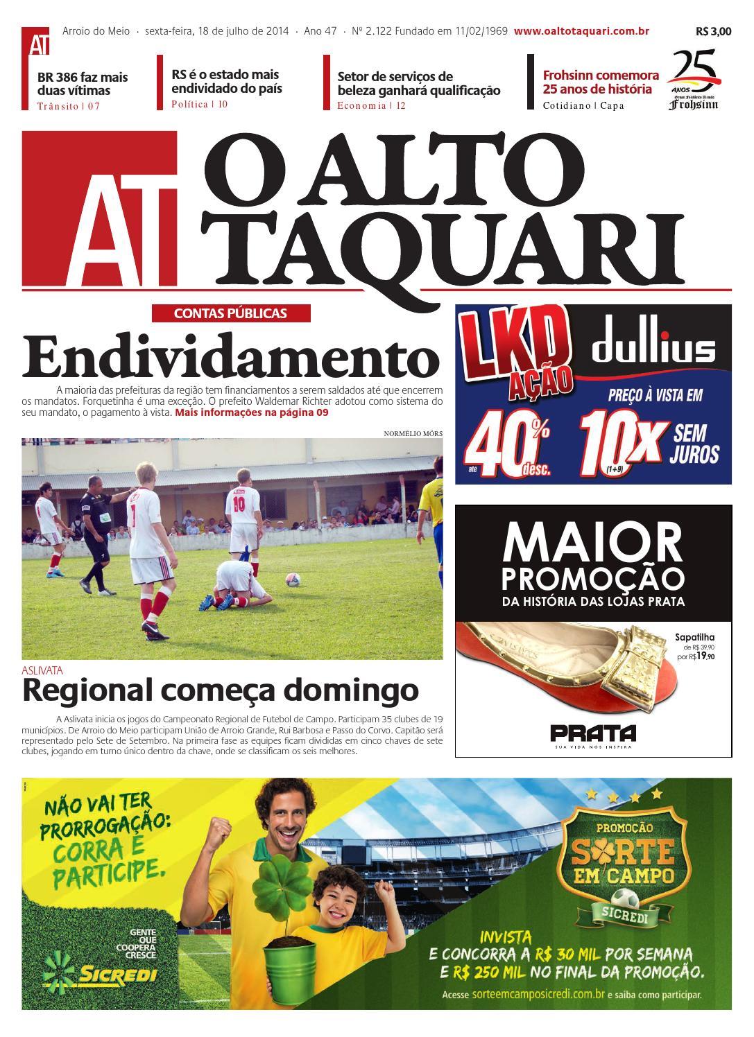 f375a85890 Jornal O Alto Taquari - 18 de julho de 2014 by Jornal O Alto Taquari - issuu