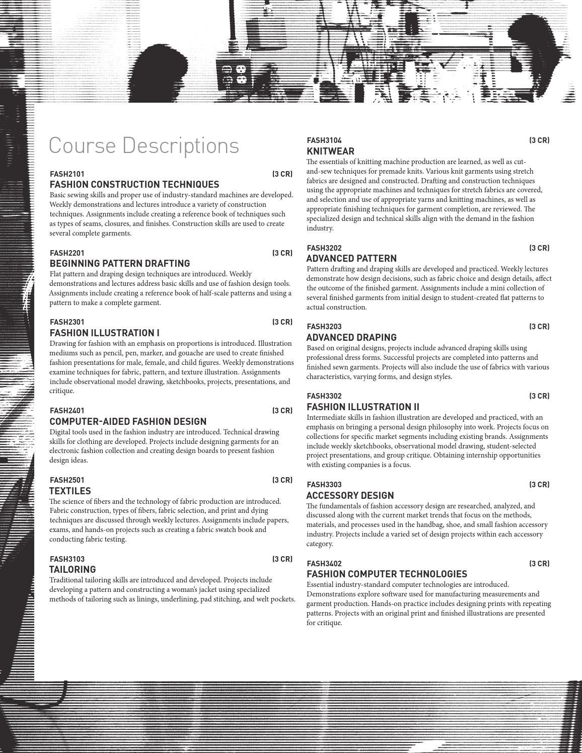 Undergraduate Course Catalog 2014 2015 By Columbus College Of Art Design Issuu
