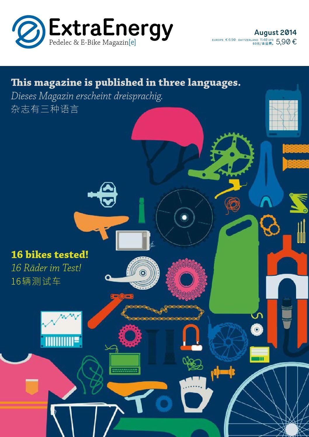 Test 2014: Pedelec and E-Bike Magazine No. 10 by ExtraEnergy - issuu