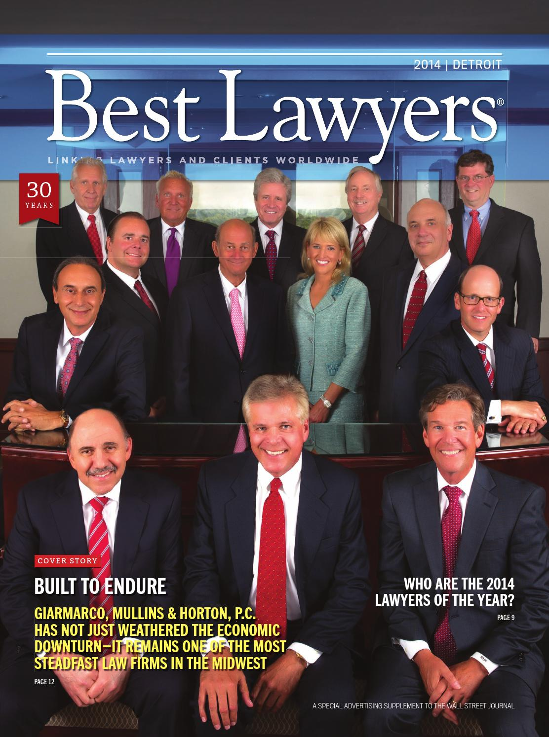 best lawyers in detroit 2014 by best lawyers issuu