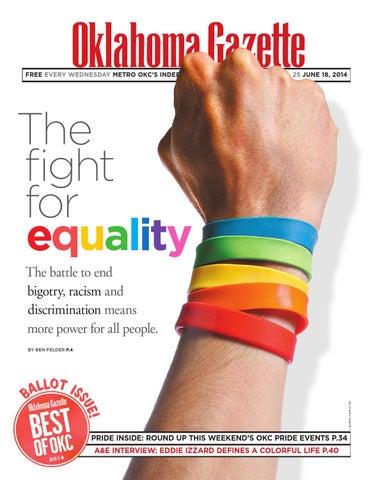 d9e1a16f0e Fight for Equality 061814 by Oklahoma Gazette - issuu