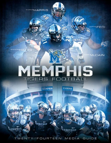 2014 Memphis Football Media Guide by University of Memphis