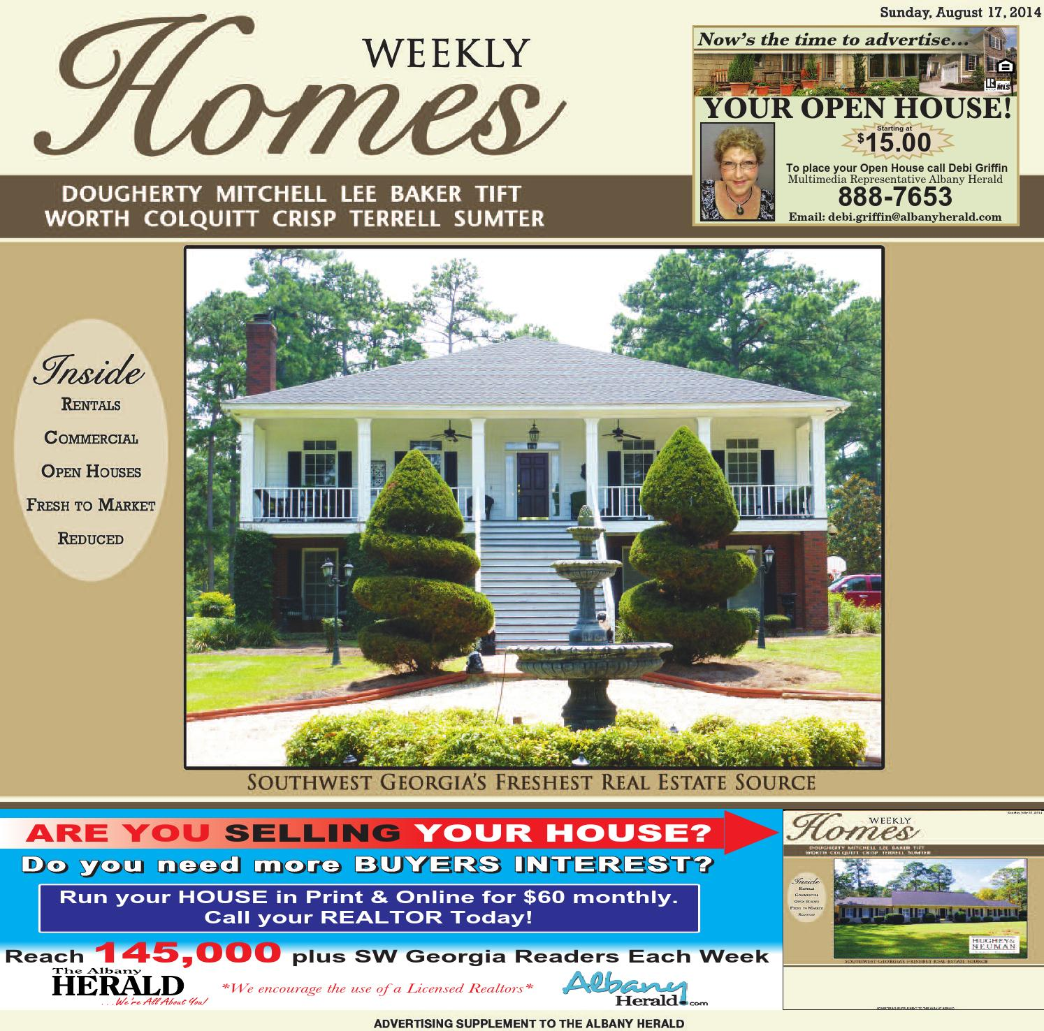 Homes 081714 By Albany Herald