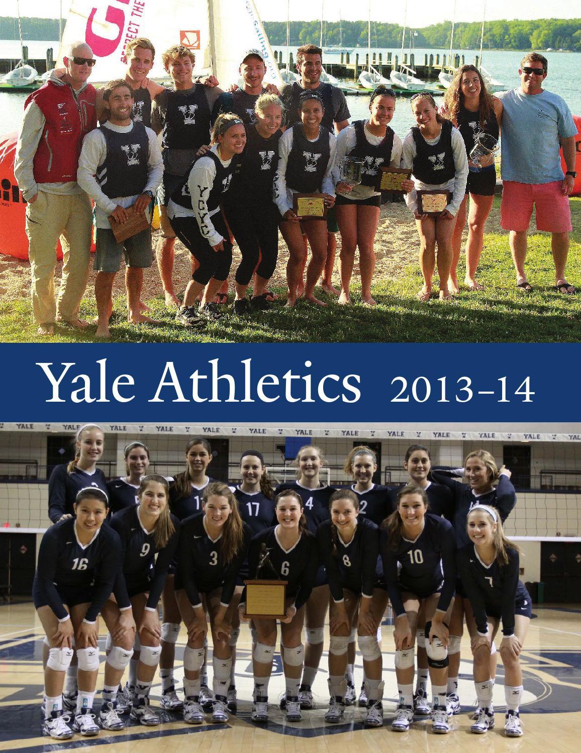 Yale Athletics 2013 14 By Yale Athletics Issuu
